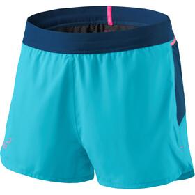Dynafit Vert 2 Spodnie krótkie Kobiety, turkusowy/niebieski